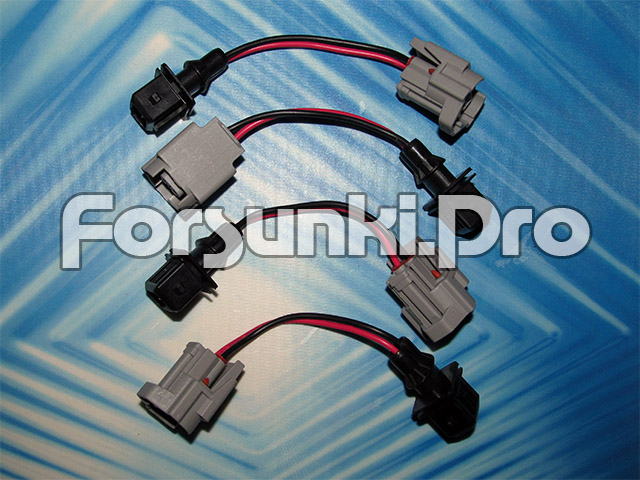 Разъемы и электрические переходники для форсунок разных типов Ev1_to_denso