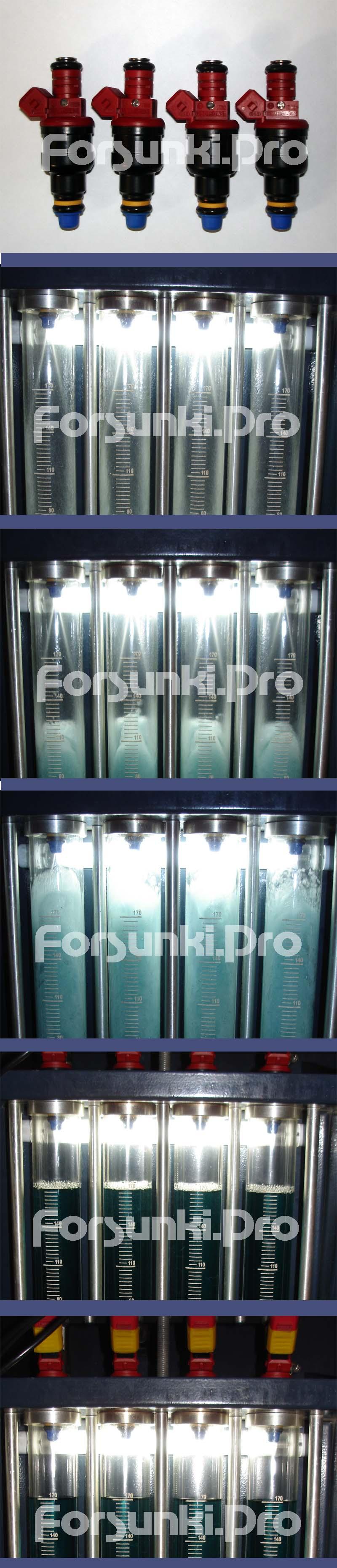 Проверка( проливка ) форсунок, замена фильтров, шайб, колпачков Photodoc